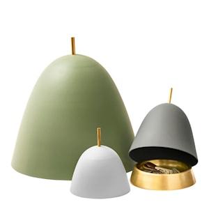 Gömma Kupa/fat liten Aluminium/mässing