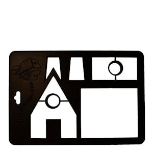 Utskärare hus 28,5 cm