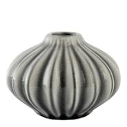 Amalie Vas 8 cm Grå keramik
