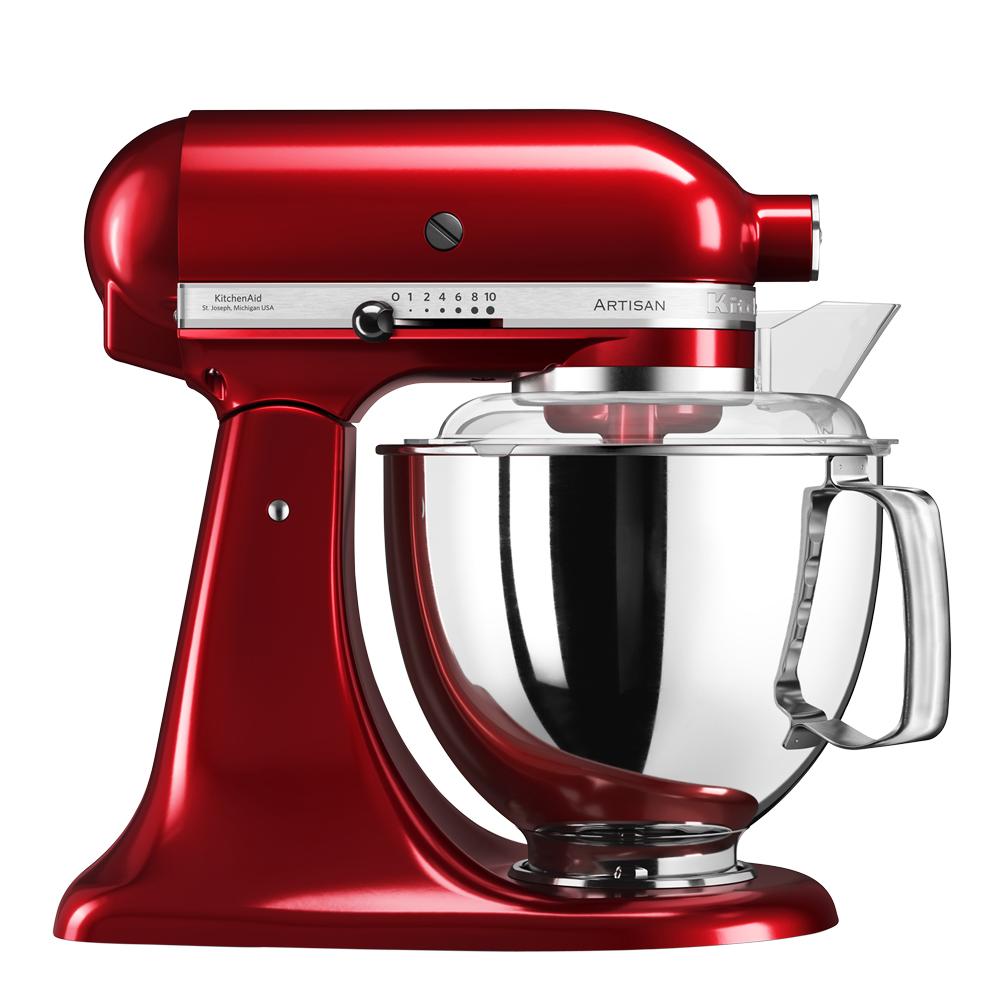 Artisan Köksmaskin 48 L + tillbehör Röd metallic