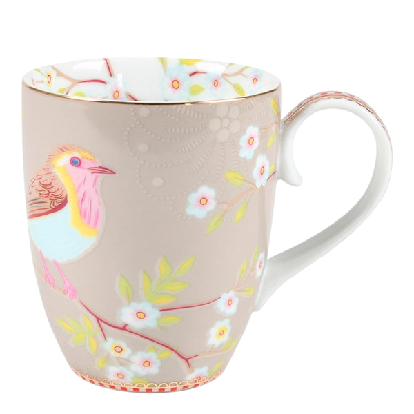 Floral Mugg stor Early Bird