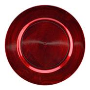 Kuverttallrik 33 cm Röd