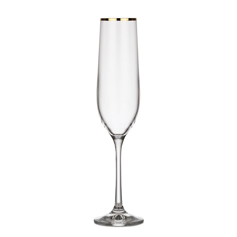 Romance Champagneglas Guldkant 19 cl