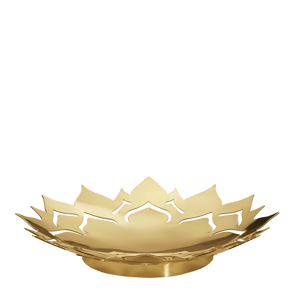 2020 Isblomma Skål Small Guld