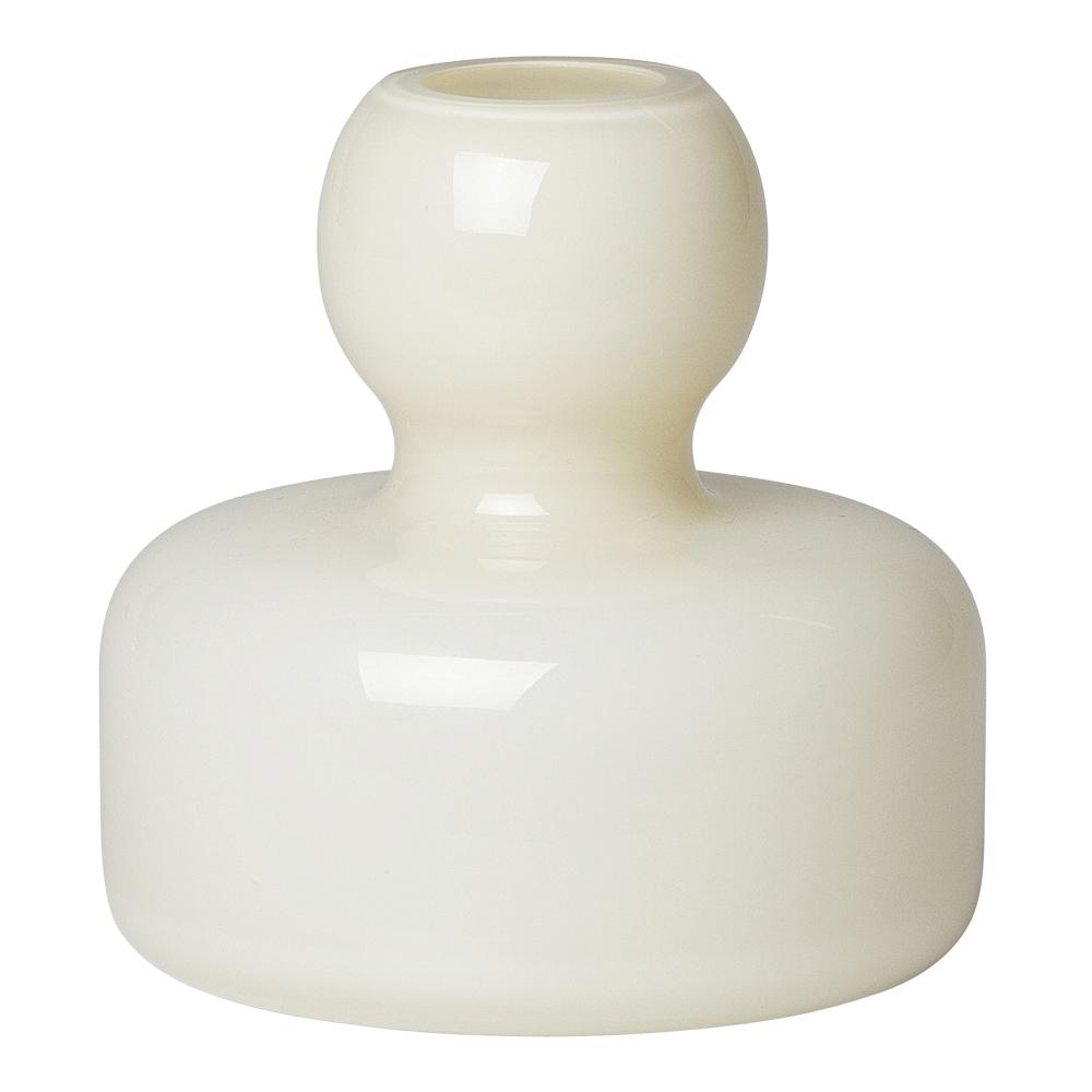 Flower Vas 10,4 cm Creme