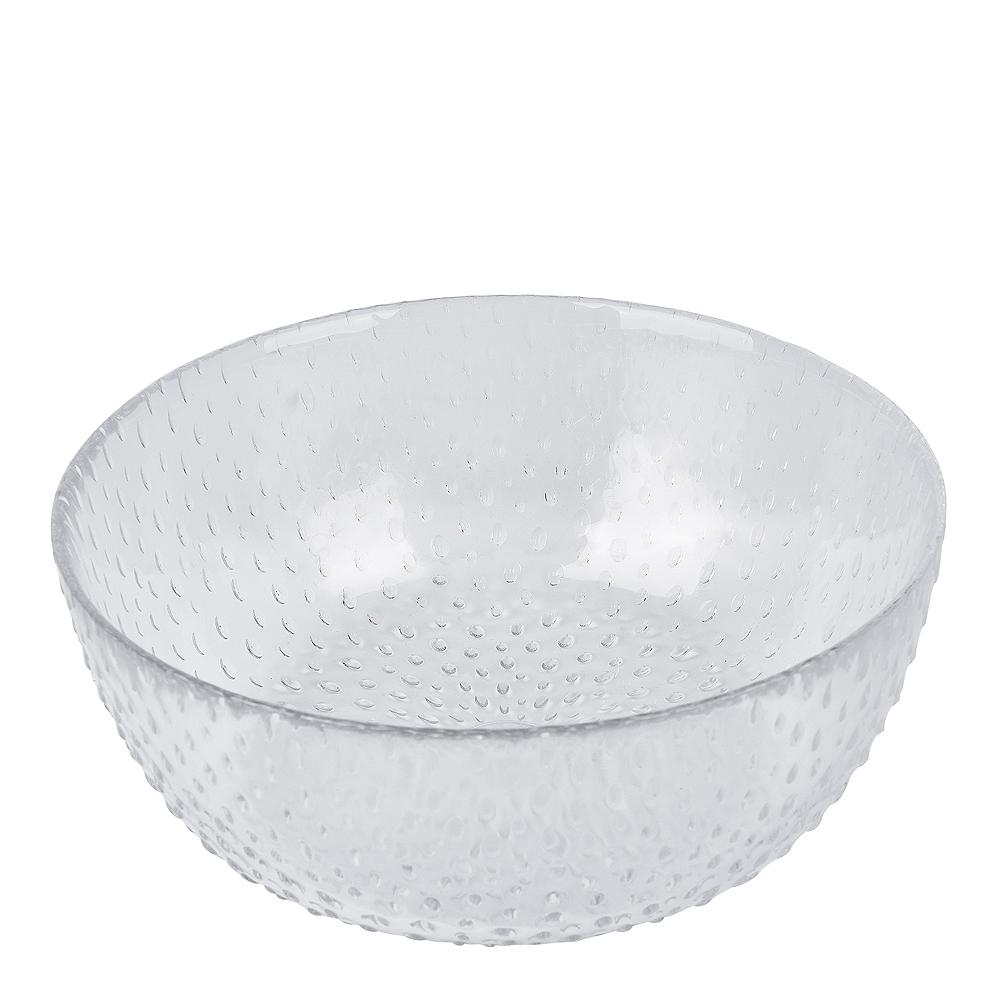 Raw Creative Glass Glasskål 14 cm Klar
