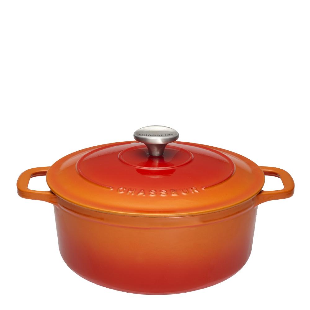Gryta rund 4,0 L Orange