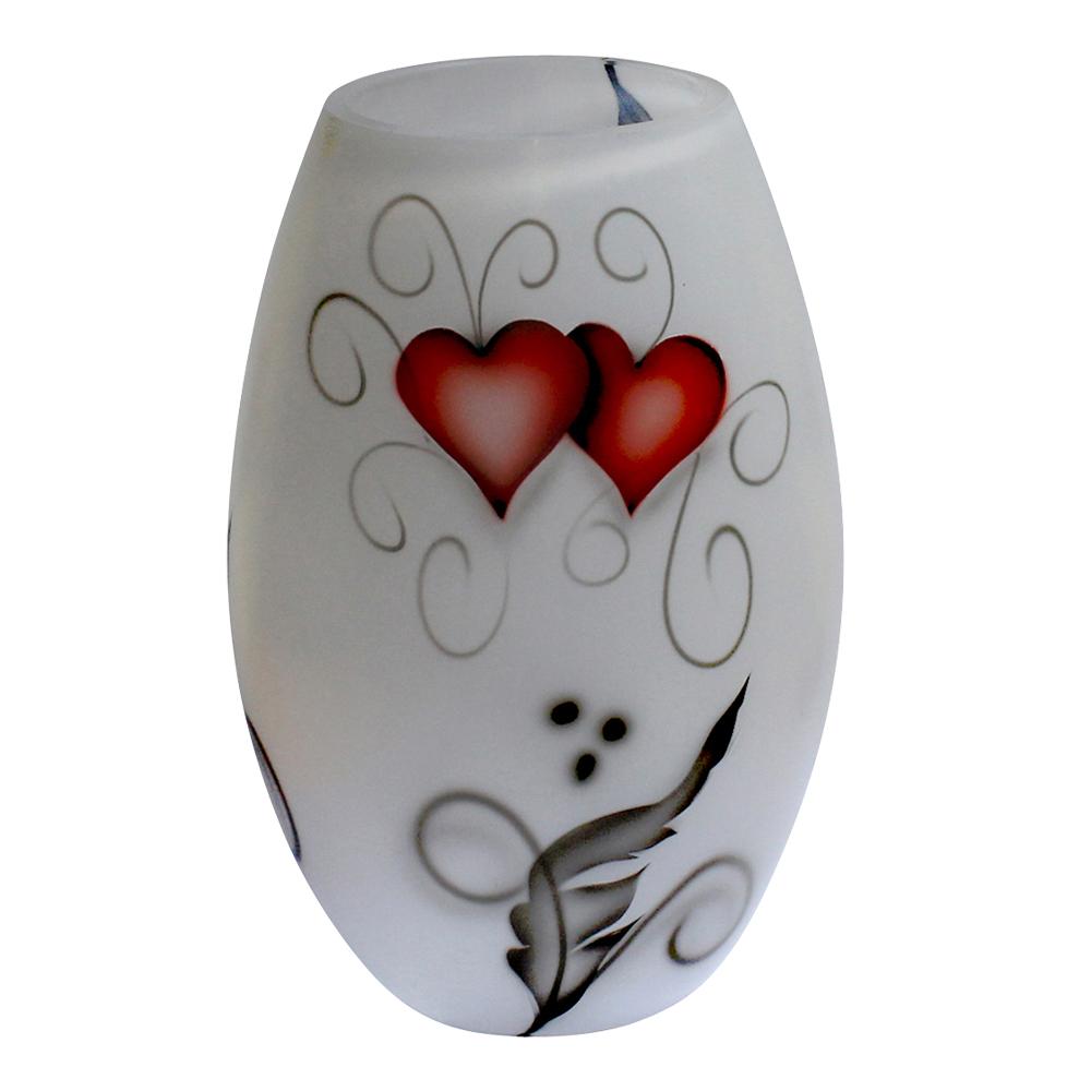 Crystal Ink Vas 20 cm Heart