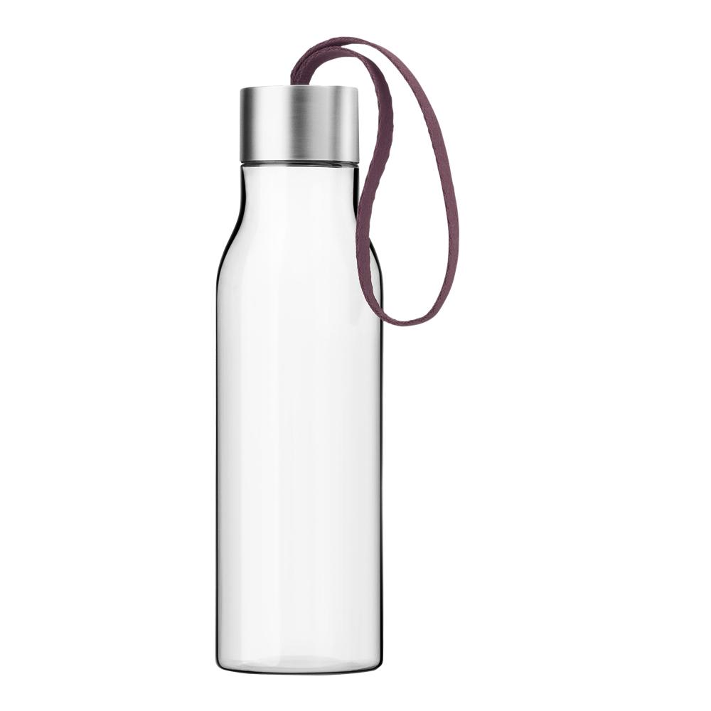 Dricksflaska 0,5 L Dark burgundy