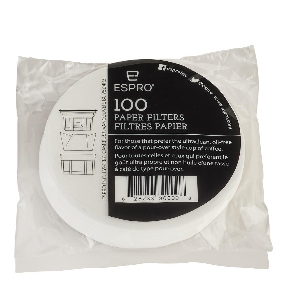 Pappersfilter till Travel Press