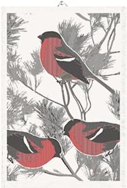 Handduk Fåglar 35x50 cm 2-pack