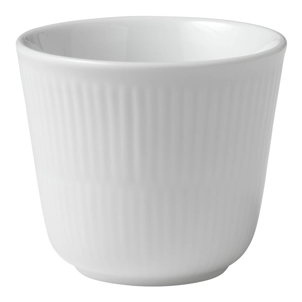 White Fluted Termomugg 26 cl
