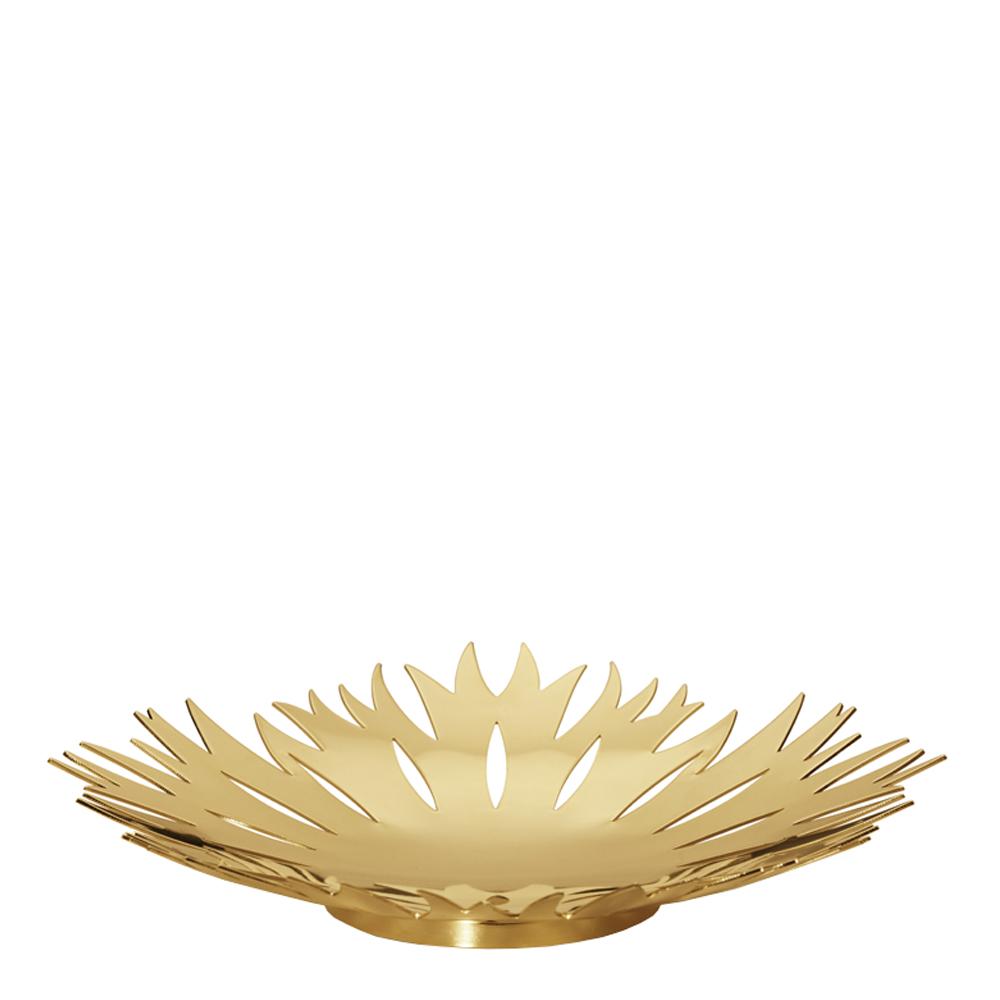 2020 Isblomma Skål Medium Guld