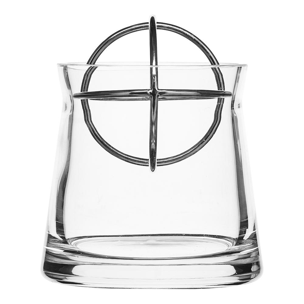 Sphere Vas Small Silver
