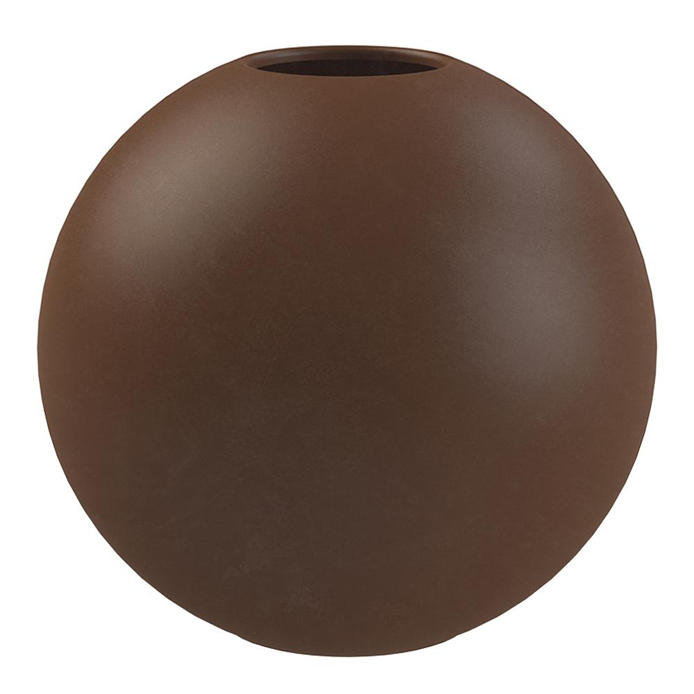 Ball Vas 10 cm Coffee