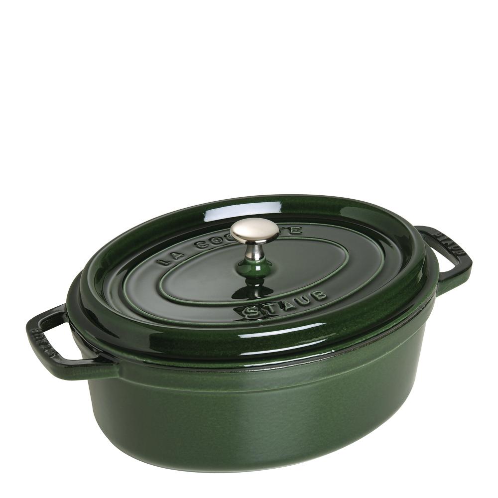 Gryta 42 L oval Grön