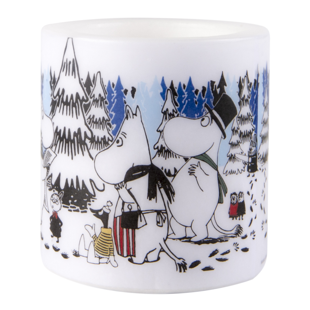 Mumin Ljus Winter Forest 8 cm