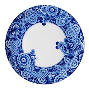 Blue Ming Tallrik flat 33 cm