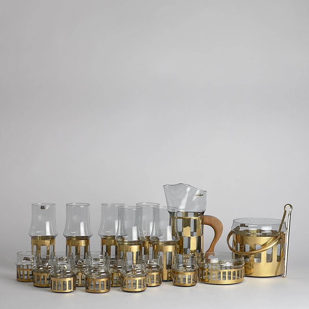 Vintage Glasservis Åke Elmer