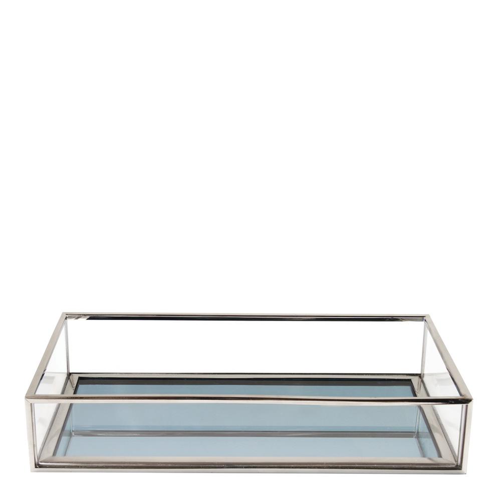 Treasure Fat Spegel Rektangel 21,5x12,5 cm Aqua