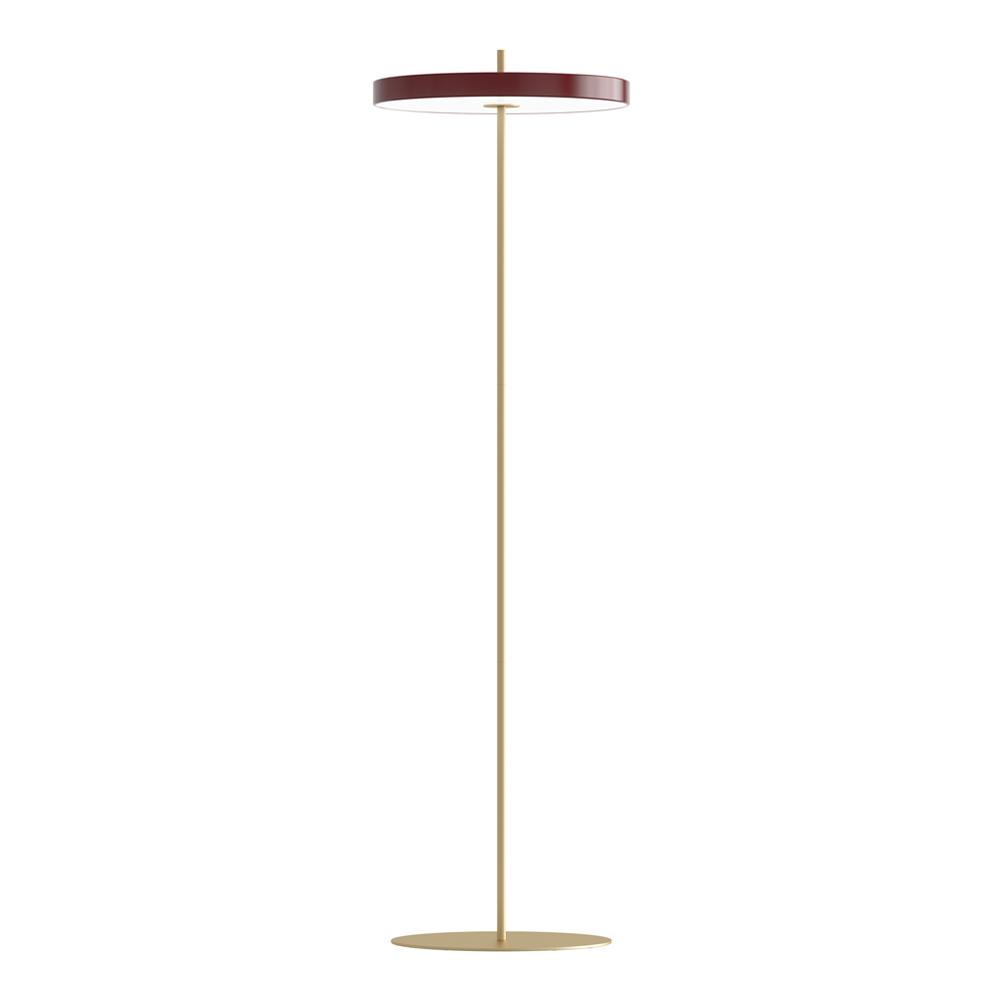 Asteria Floor Golvlampa 40x150 cm Rubinröd