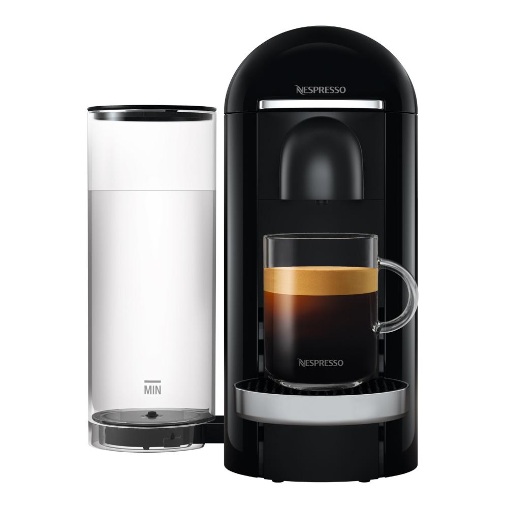 VertuoPlus Deluxe Round Top Kaffemaskin Svart