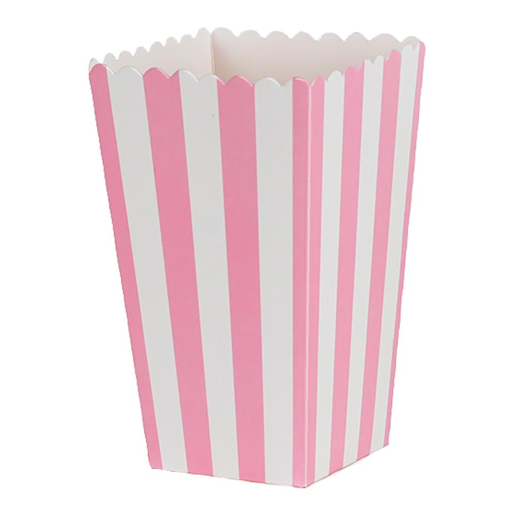 Popcornbox rosa r¿nder 6-pack