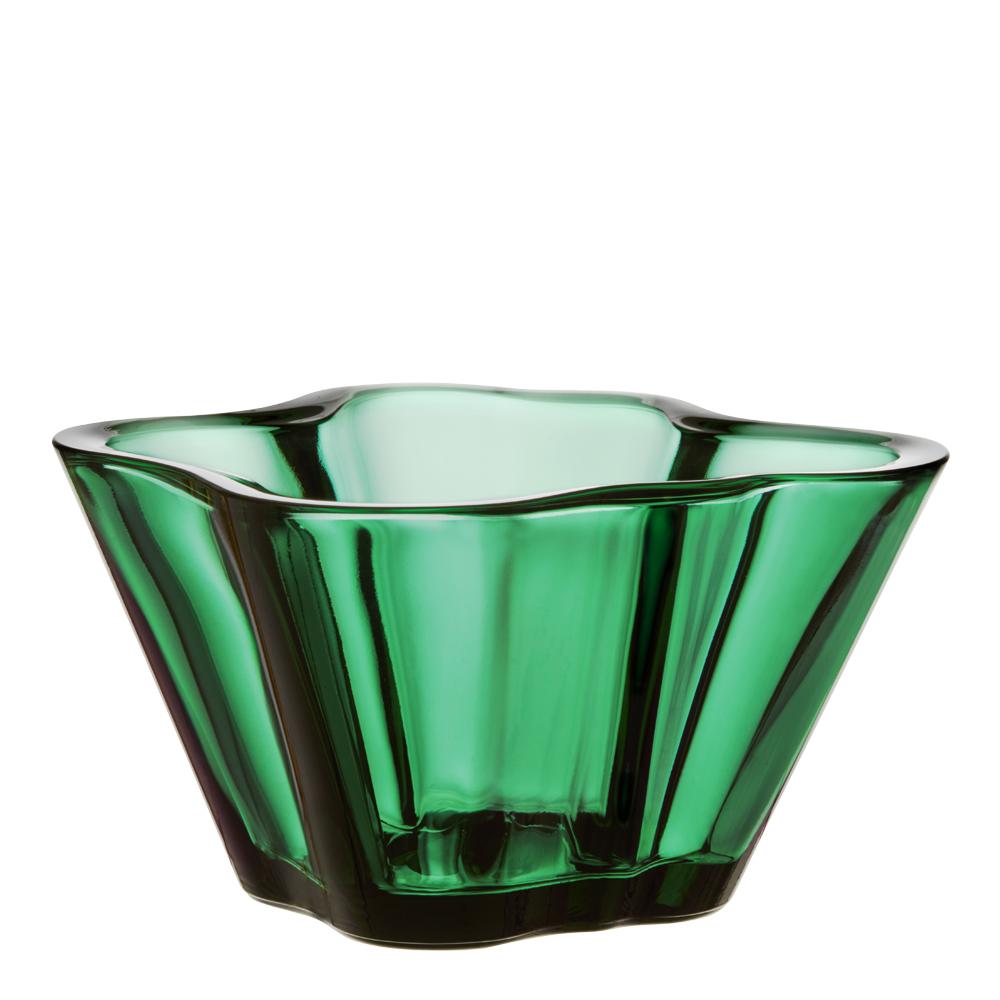 Aalto Skål 7,5 cm Smaragd