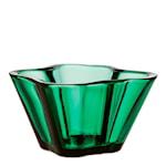 Alvar Aalto Collection Skål 7,5 cm Smaragd