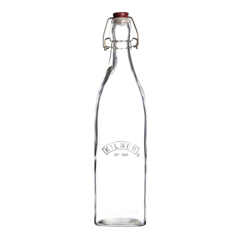 Clip Top Square Flaska 055 L bygel