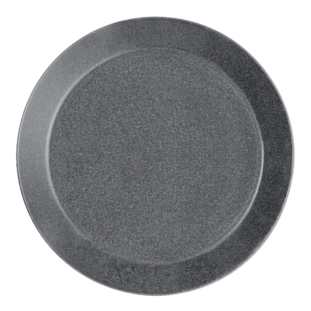 Teema Tallrik flat 17 cm Gråmelerad