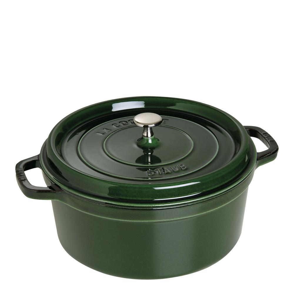 Gryta 6,7 L rund Grön