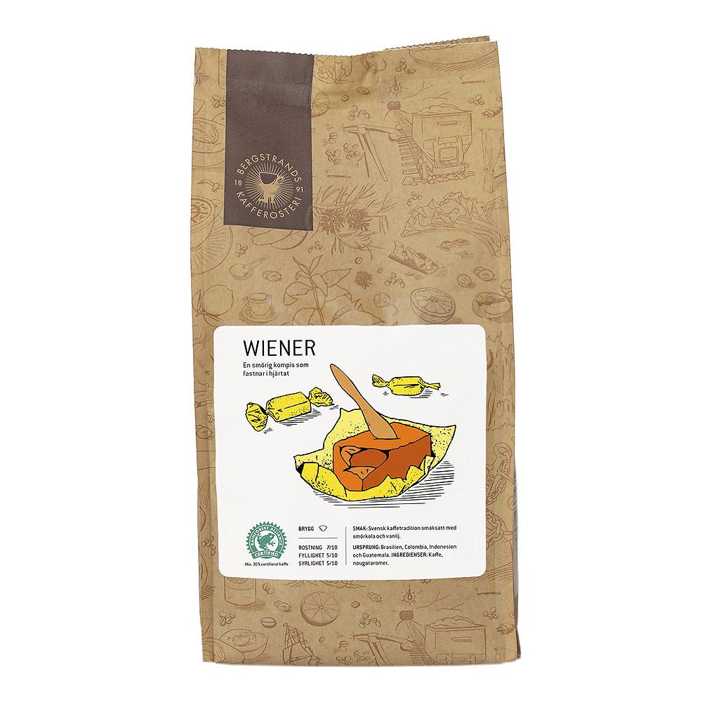 Bryggkaffe Malet Wiener 250 g