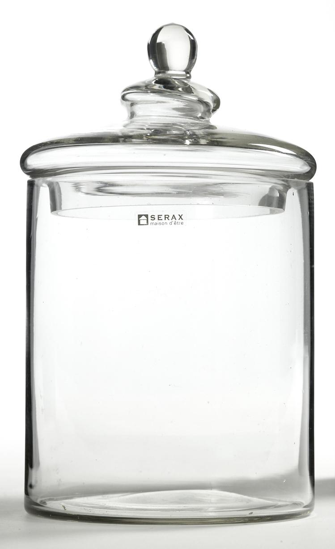 Förvaring Glasburk 13×20 cm Klar