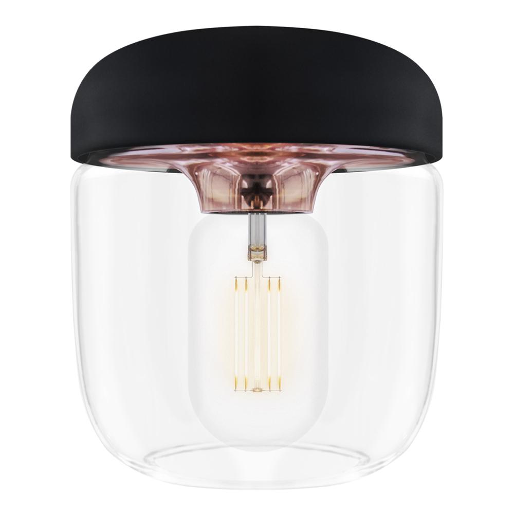 Acorn Lampskärm 14 cm Svart/Koppar