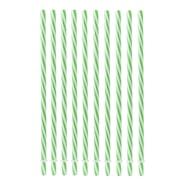 Sugrör 23 cm Grön 10-pack