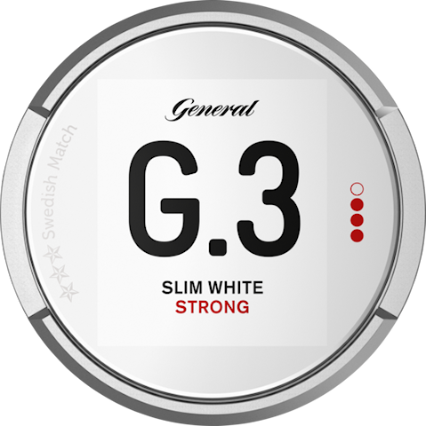 G.3 Slim White Portion Strong