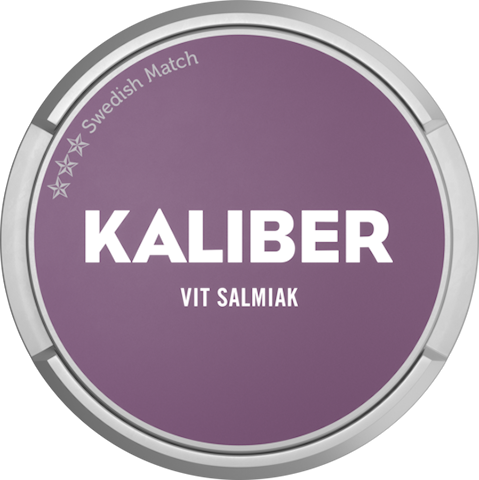 Kaliber Salmiak Vit Portion