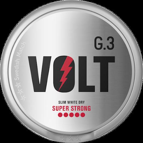 G.3 VOLT Slim White Dry Super Strong