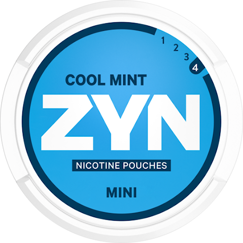ZYN Mini Cool Mint All White Extra Strong