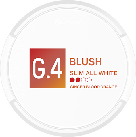 G.4 Blush Slim All White