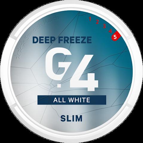 G.4 DEEP FREEZE All White Slim