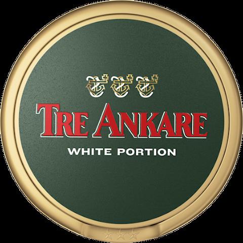 Tre Ankare White Portion