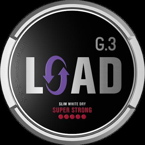 G.3 LOAD Slim White Dry Super Strong