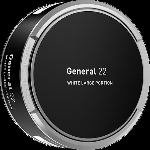 General 22 sidovinkel