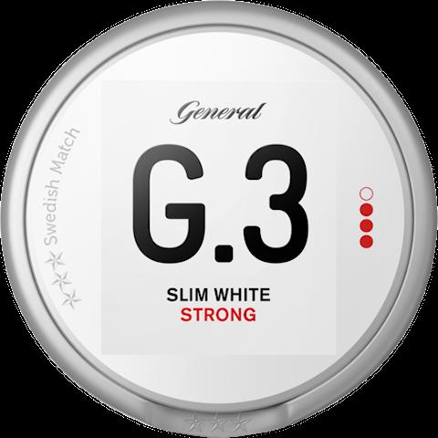 G.3 Slim White Portion Strong