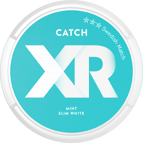 XR Catch Mint Slim White Portion