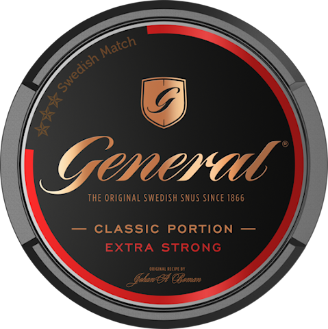 General Original Portion Extra Strong - Senaste produktionen