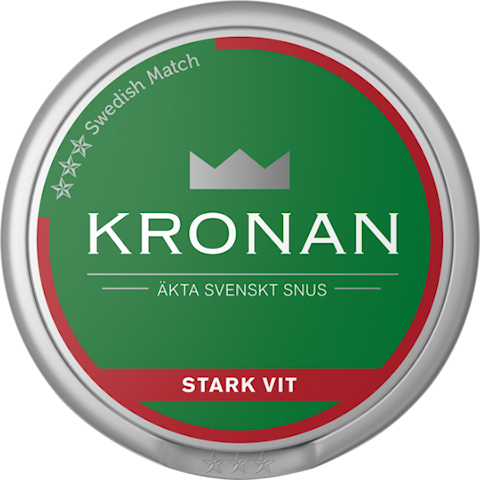 Kronan Vit Portion Stark