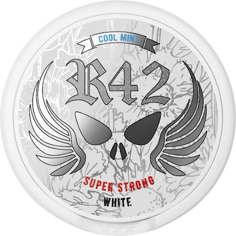 R42 Cool Mint White Portion Super Strong